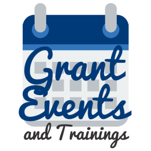 Grant Events and Trainings logo