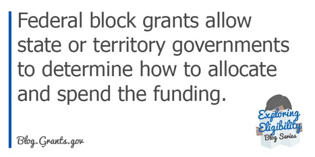 Federal Block Grants