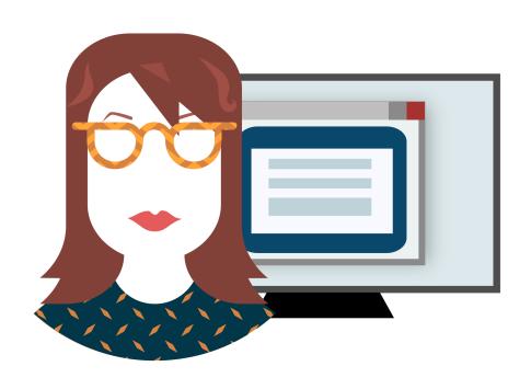 Online Forms Illustration