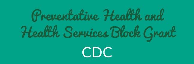 Preventive Health and Health Services Block Grant