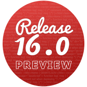 Release 16.0 Preview icon