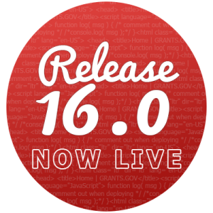 Release 16.0 is now live