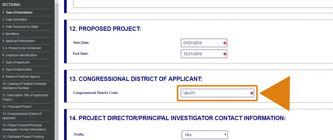 How to Find Your Congressional District for the SF-424 Form – Grants