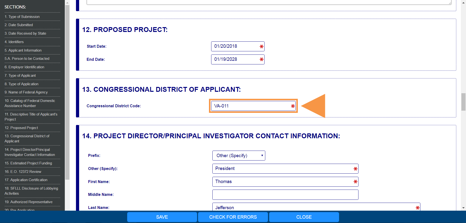 How to Find Your Congressional District for the SF-424 Form ...