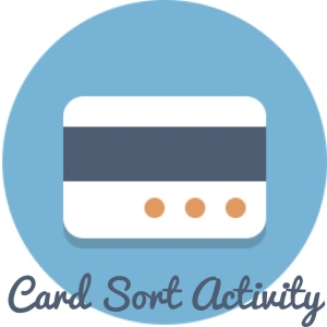 Card Sort Activity