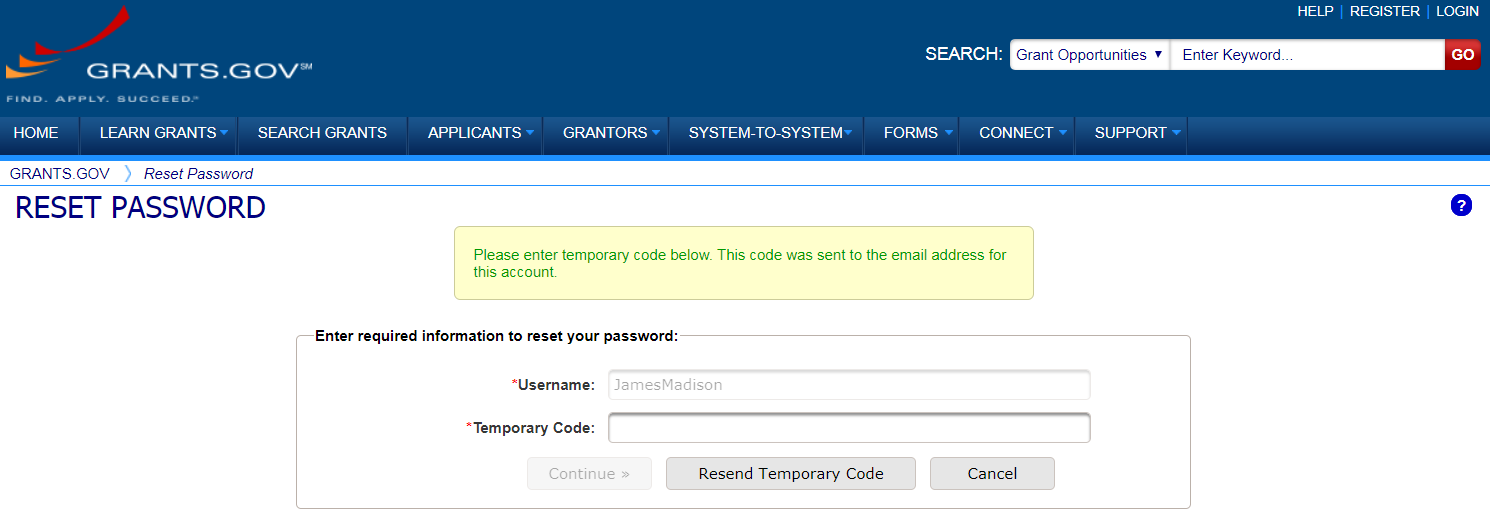 Email Validation with Temporary Codes