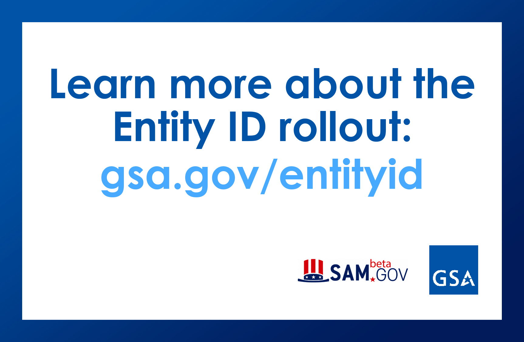 Learn more about the Entity ID rollout