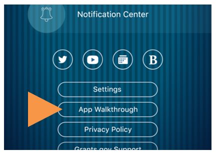 Grants.gov App Walkthrough
